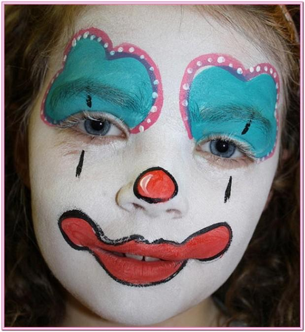 Easy Clown Face Paint Ideas