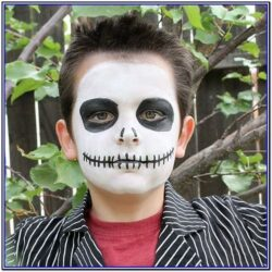 Easy Face Paint Ideas For Halloween