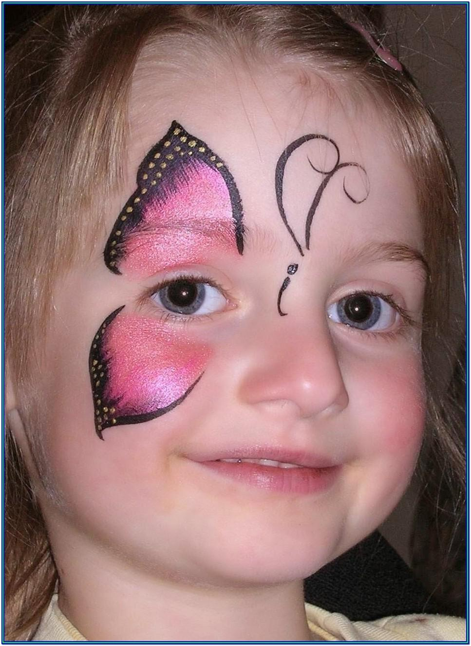 Easy Face Paint Ideas For Toddlers
