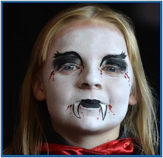 Easy Face Paint Ideas Halloween