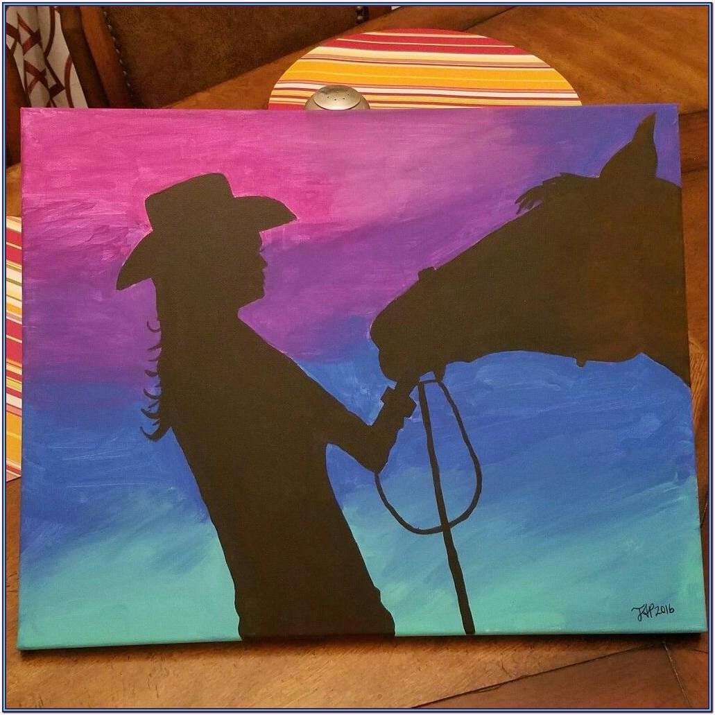 Easy Horse Painting Ideas