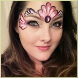 Easy Mermaid Face Painting Ideas