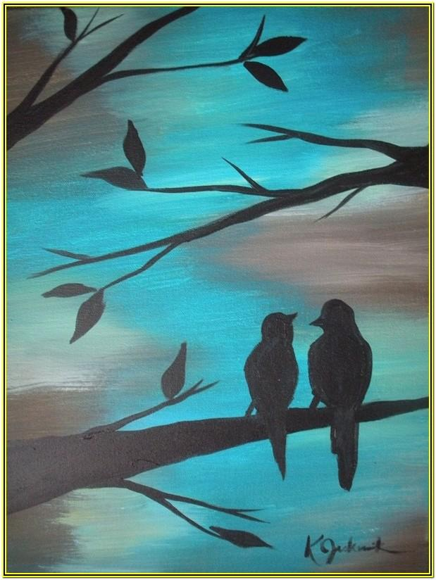 Easy Painting Ideas Acrylic