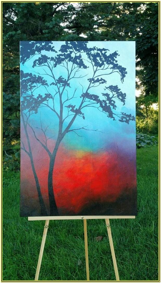 Easy Painting Ideas For Beginners On Canvas