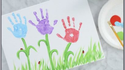 Easy Painting Ideas For Mother's Day