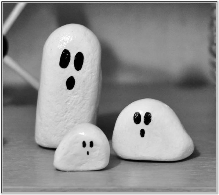 Easy Rock Painting Ideas For Halloween