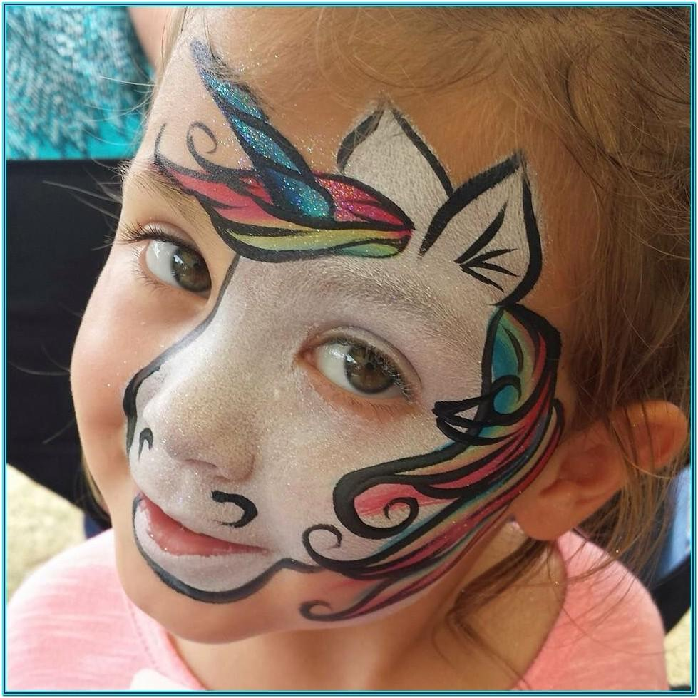 Easy Unicorn Face Painting Ideas