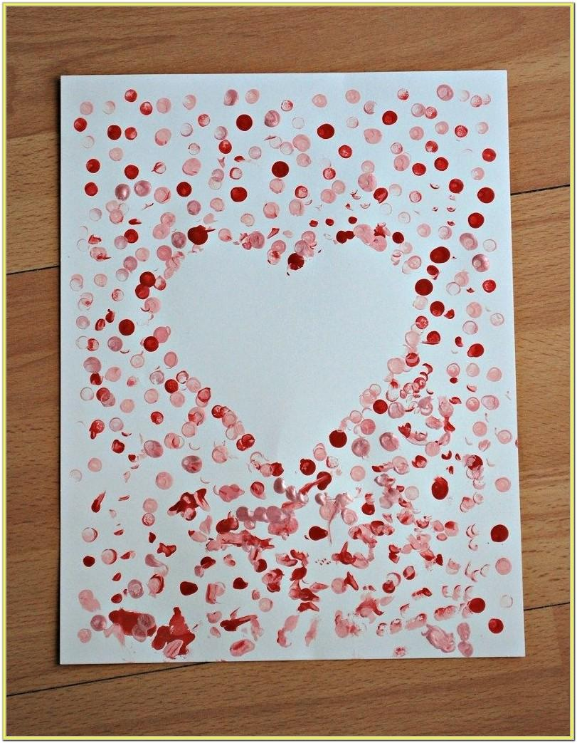 Easy Valentine's Day Painting Ideas