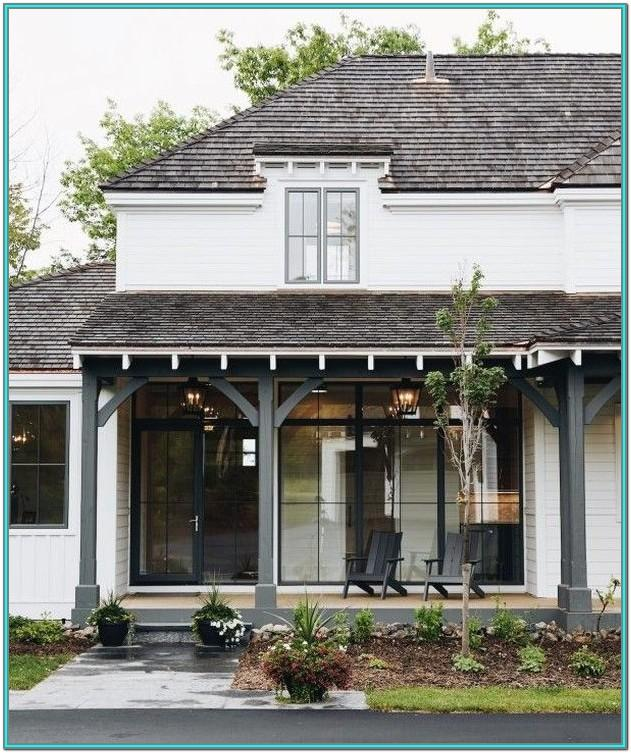 Enclosed Front Porch Paint Colors