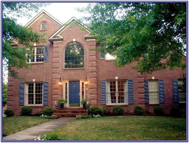 Exterior Color Ideas For Brick Houses