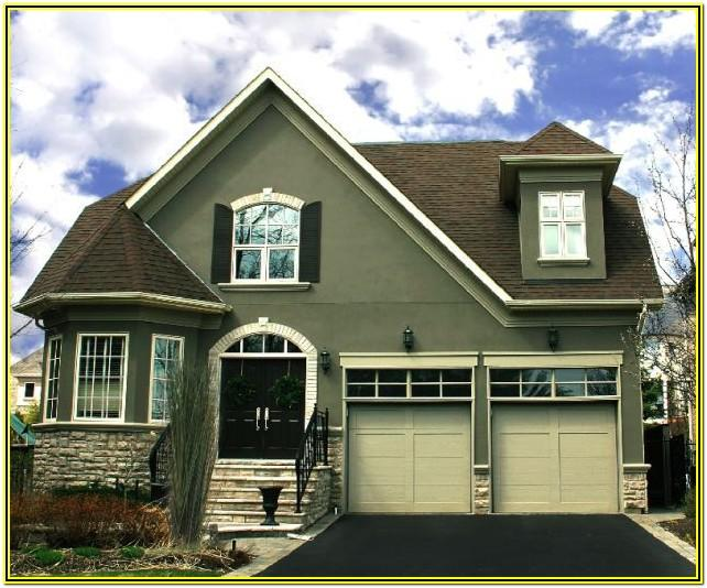 Exterior Color Schemes For Homes Olive