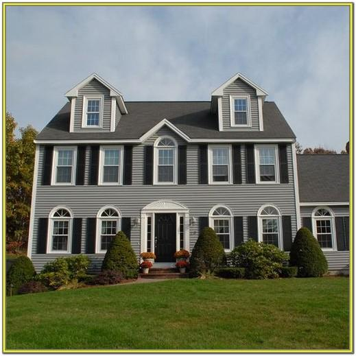 Exterior Colors Of Colonial Homes