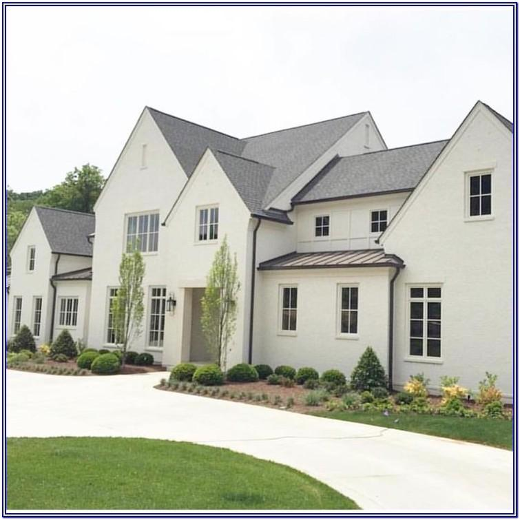 Exterior Colour Schemes For White Houses