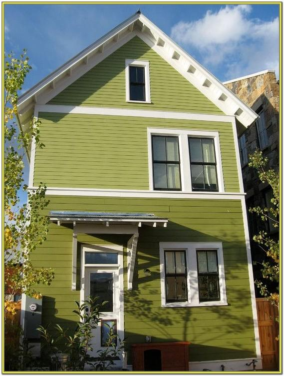 Exterior Green Paint Colours