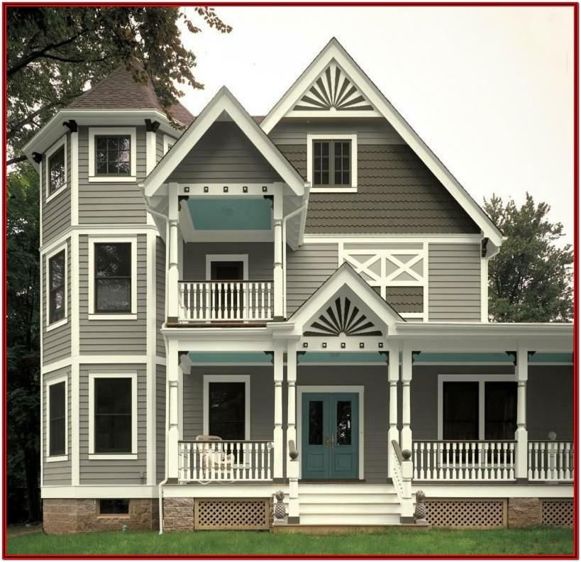 Exterior House Colors For Victorian Houses