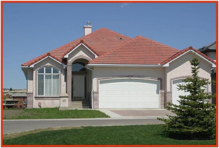 Exterior House Colors Red Roof