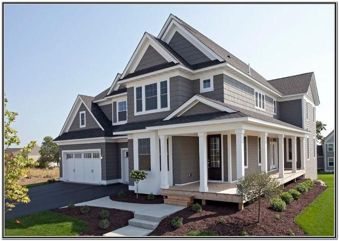 Exterior House Paint Ideas Gray