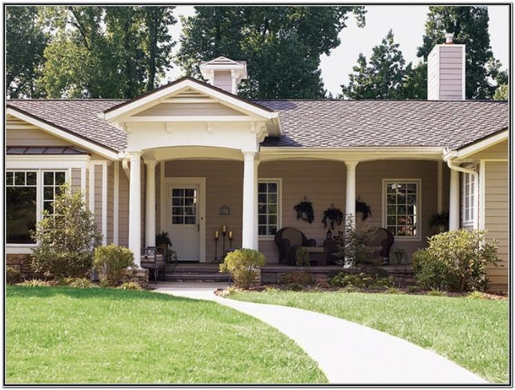 Exterior House Paint Ideas Ranch Style