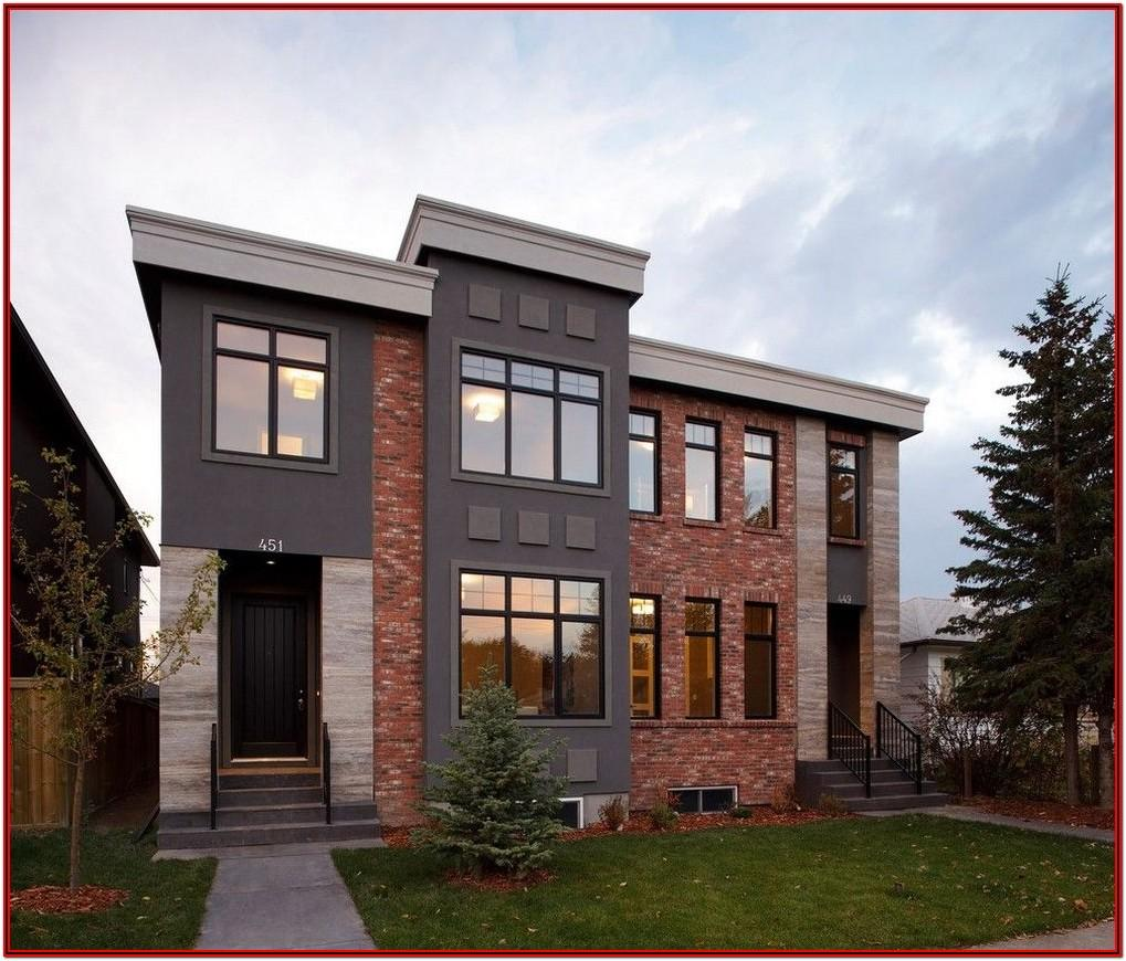 Exterior Paint Color Combinations With Brick