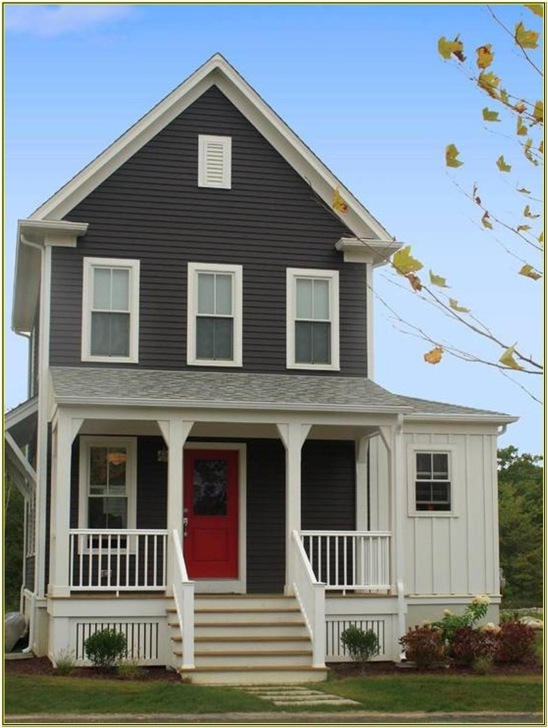 Exterior Paint Color Ideas For Small Homes