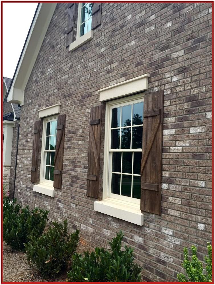 Exterior Paint Colors For Brown Brick Homes