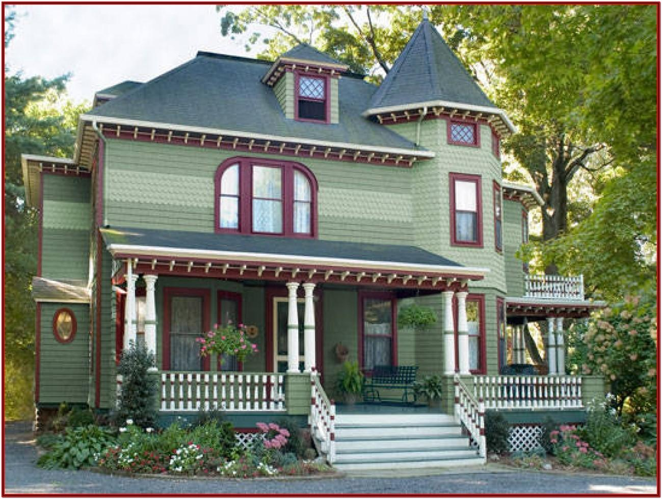 Exterior Paint Colors For Historic Homes