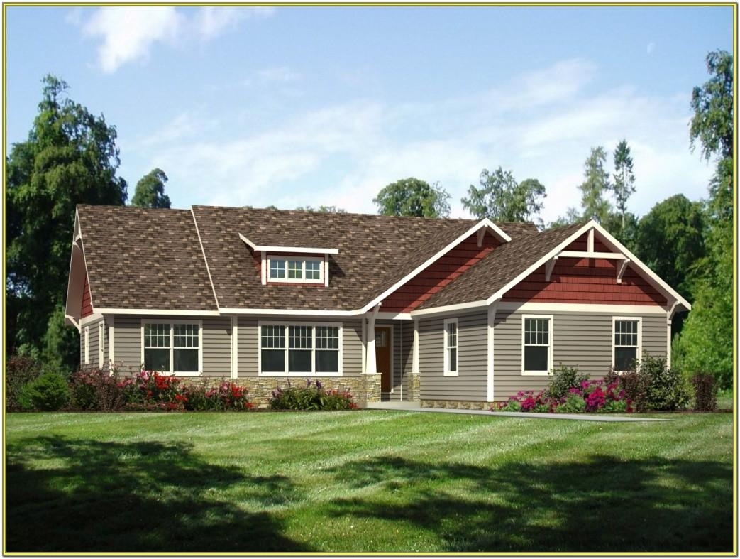 exterior paint colors for ranch style homes pictures