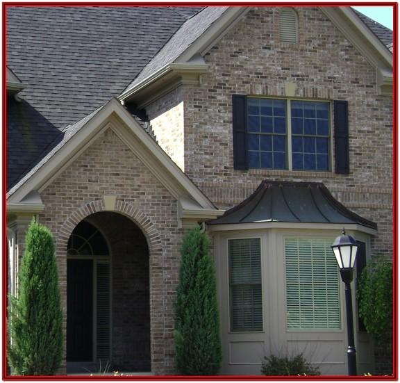 exterior paint colors that go with light brown brick
