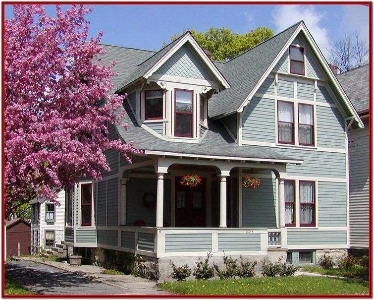 Exterior Paint Colors Victorian Houses