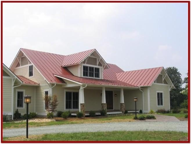 Exterior Paint Colors With Red Metal Roof