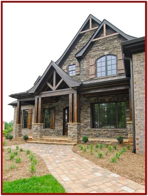 Exterior Paint Schemes With Brick
