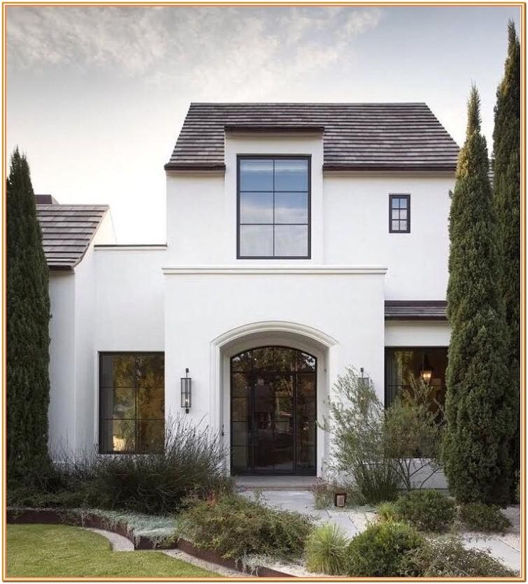 Exterior Stucco House Paint Colors