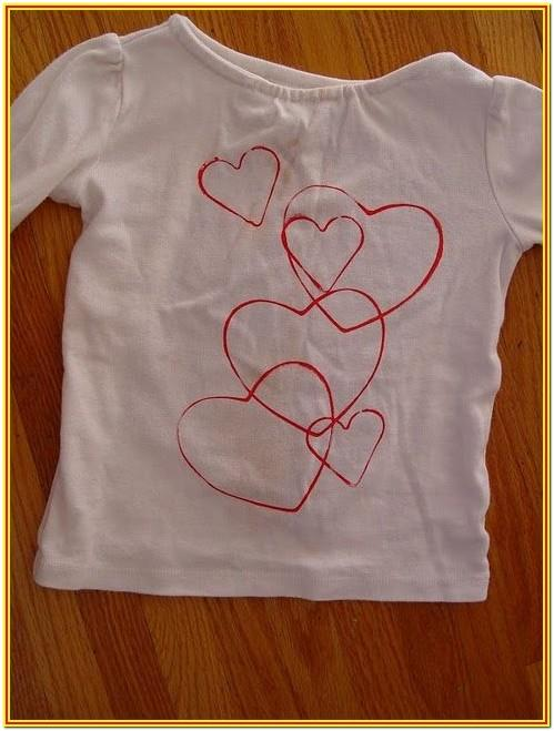 Fabric Painting Ideas For Baby Shirts