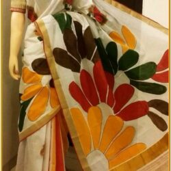 Fabric Painting Ideas Saree