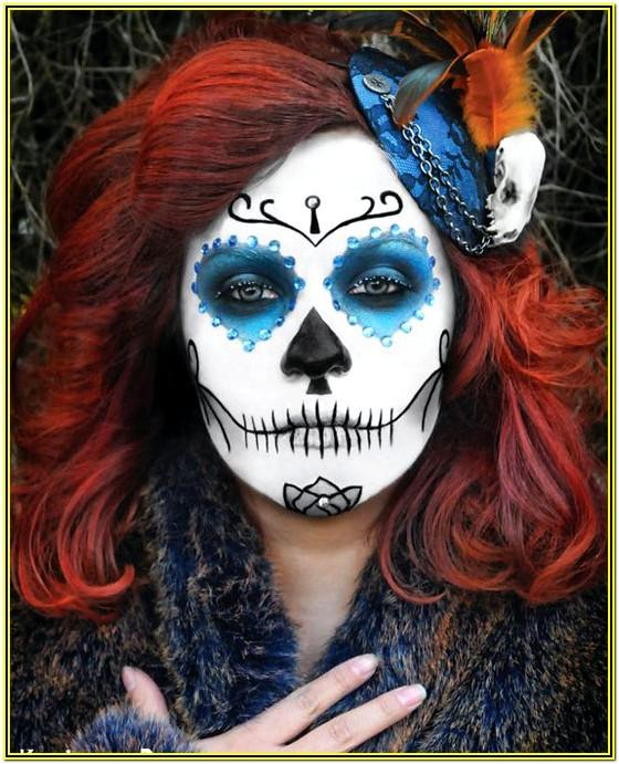 Face Paint Ideas For Halloween Adults