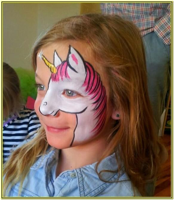 face paint ideas unicorn