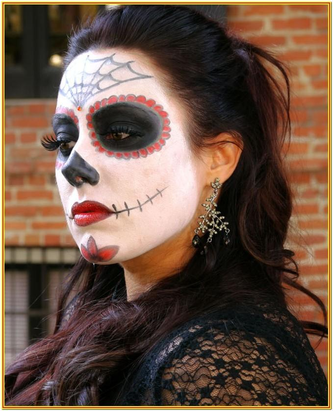 Face Painting Ideas For Adults Halloween