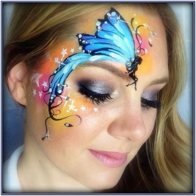 Fairy Face Painting Ideas