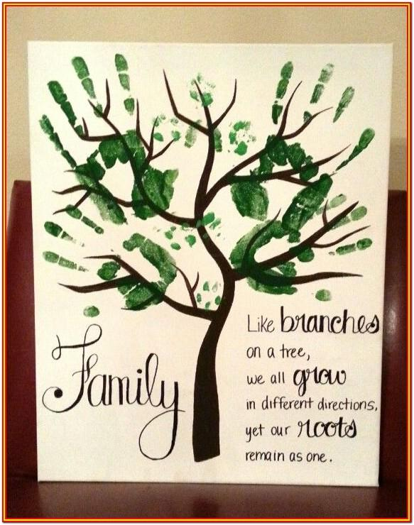 Family Hand Painting Ideas