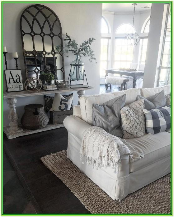 Farmhouse Living Room Decor Pinterest