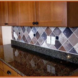 Faux Painted Backsplash Ideas