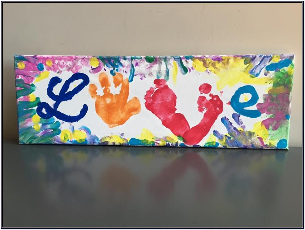 Finger Painting Ideas For Mother's Day