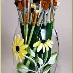 Flower Vase Painting Ideas