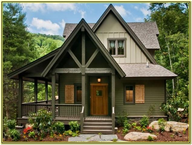 French Country Cottage Exterior Colors