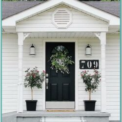 Front Door And Porch Paint Ideas