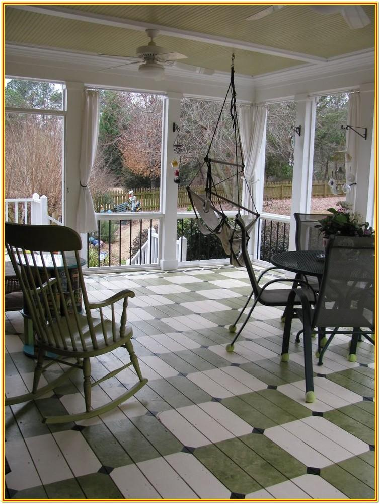 Front Porch Floor Paint Ideas