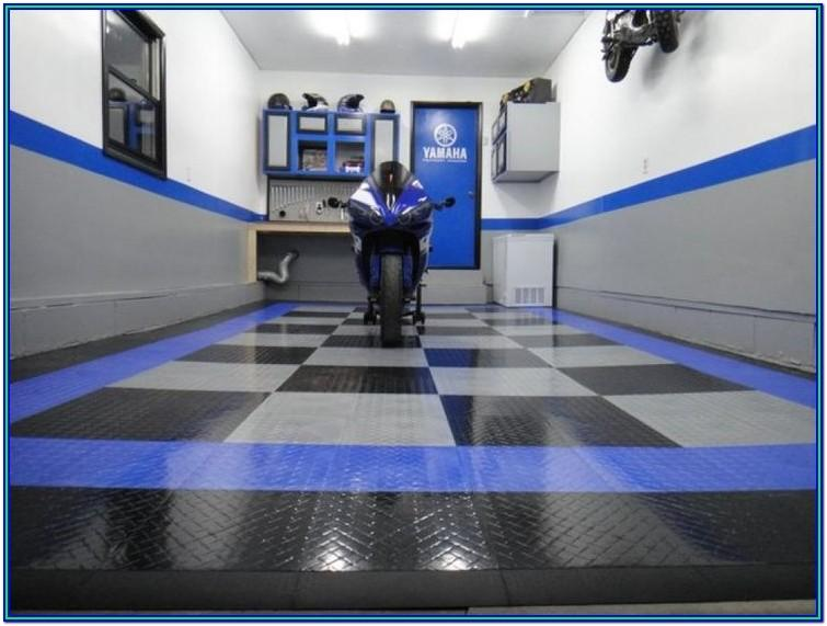 Garage Paint Ideas Blue