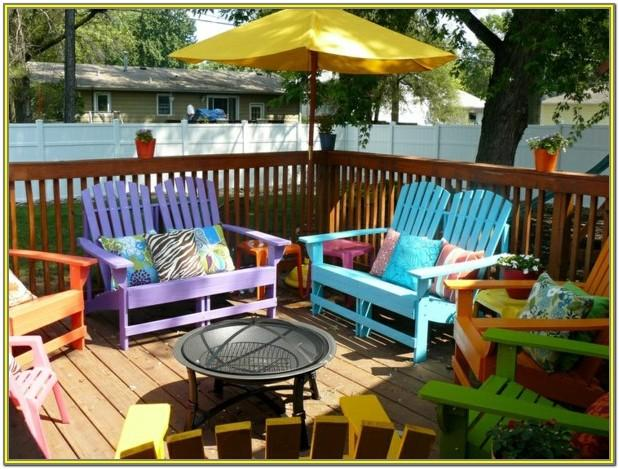 Garden Furniture Paint Colours