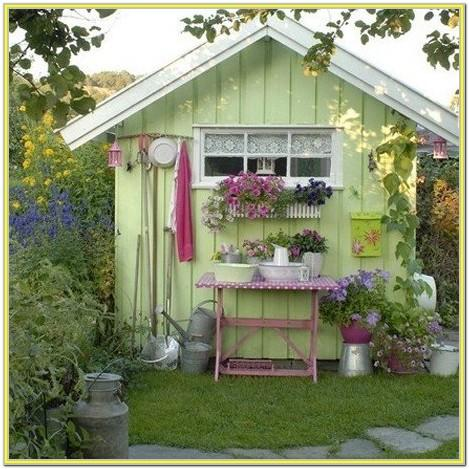Garden Shed Paint Ideas