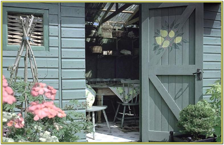 garden wood paint colours